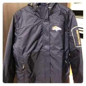 NFL Jackets & Coats - NWT Ladies Denver Broncos 3 in 1 Systems Jacket